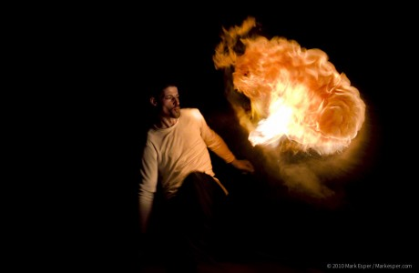 Photographs from Breathing Fire - MARK ESPER. PHOTOGRAPHER