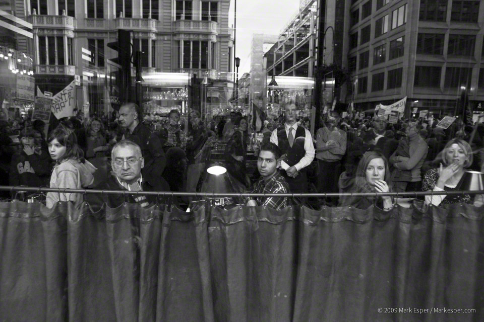 Photographs from Conflicted: London's Faces of Protest - MARK ESPER.