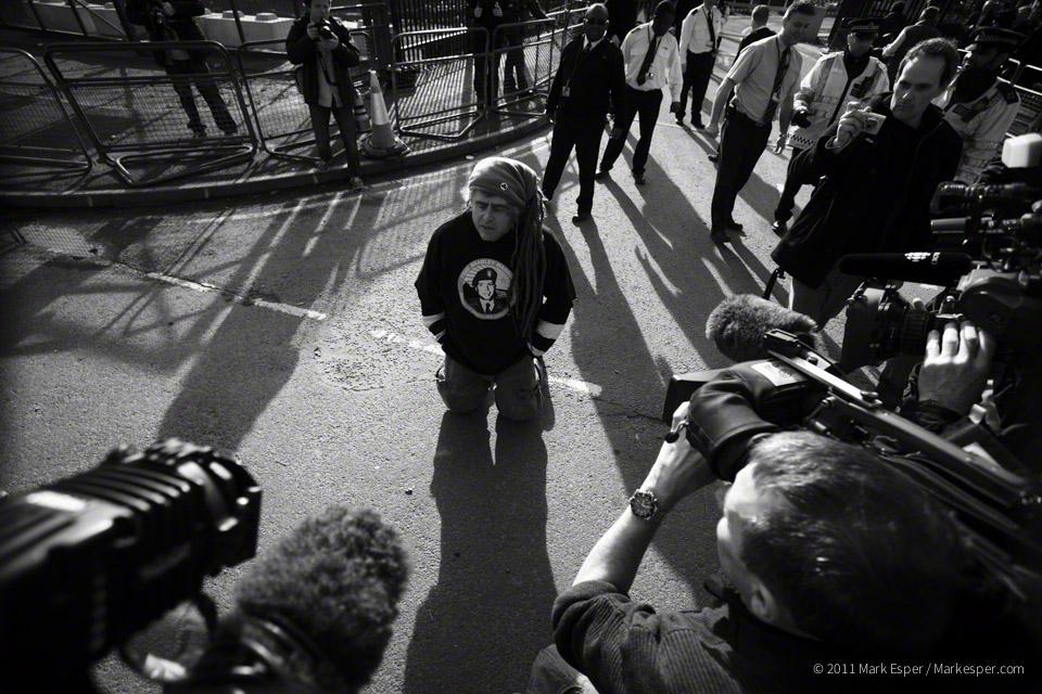Photographs from Assange On Trial - MARK ESPER.