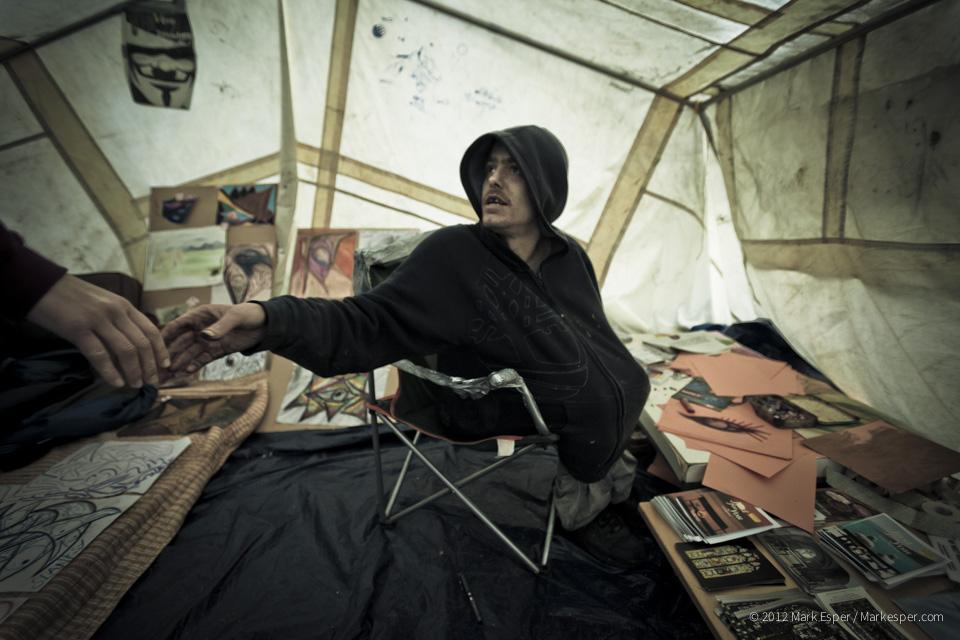 Photographs from Occupied Artist - MARK ESPER. PHOTOGRAPHER