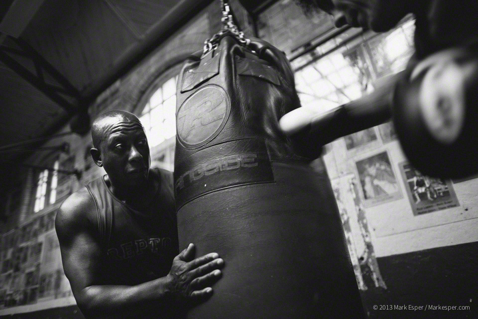 Repton Boys Boxing Club - Mark Esper. Photographer.