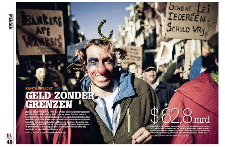 Tear Sheet from Financieele Dagblad - MARK ESPER. PHOTOGRAPHER