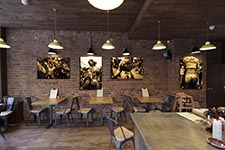 Tamp Coffee in Chiswick's interior