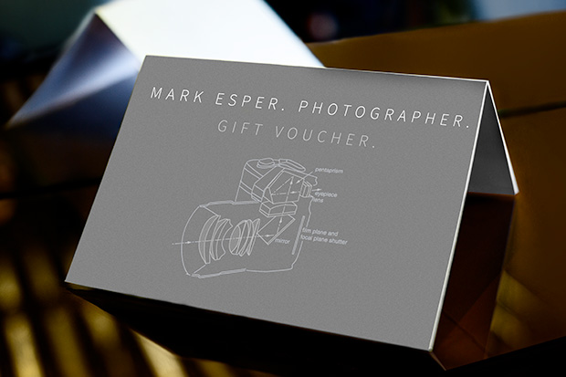 Mark Esper Photography. Gift Vouchers